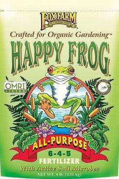 FoxFarm Happy Frog All Purpose Fertilizer