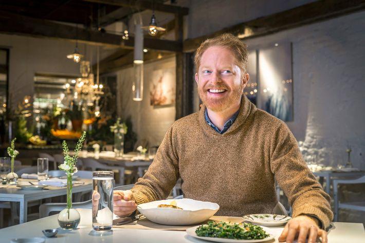 Ferguson at one of his regular stops, ABC Kitchen.