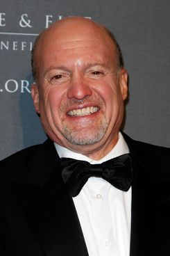 NEW YORK, NY - OCTOBER 13: TV Personality Jim Cramer attends the 26th Annual New York Police & Fire Widows' & Children's Answer the Call Benefit Fund Gala at Wade Thompson Drill Hall at Park Avenue Armory on October 13, 2011 in New York City.  (Photo by Robin Marchant/Getty Images)