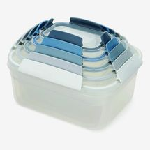 Joseph Joseph Nest Lock Plastic Food Storage Set with Leakproof Lids (10-Piece)