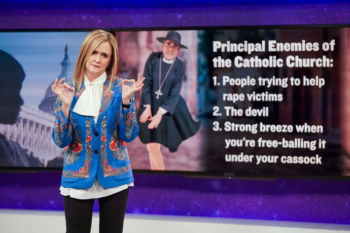 Full Frontal With Samantha Bee. Photo: Jessica Miglio/TBS