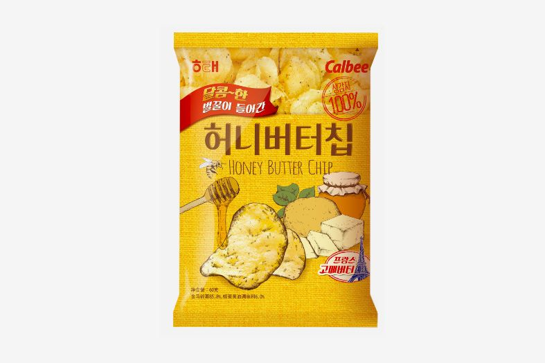 Haitai Calbee Honey Butter Chip, 2.3 Oz.
