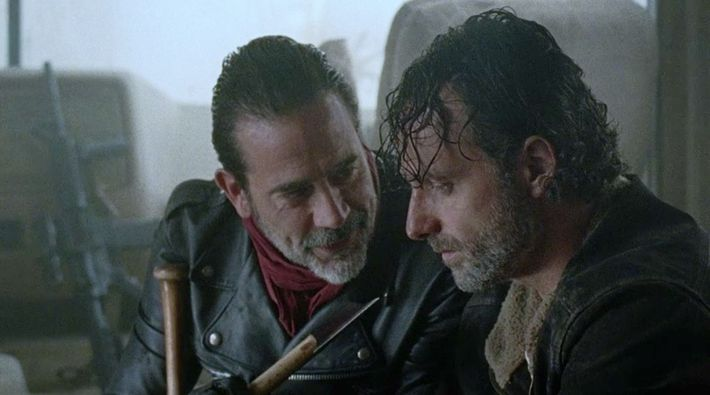 Bye Bye Rick >> Rick and Negan Should Just Kiss Already on The Walking Dead