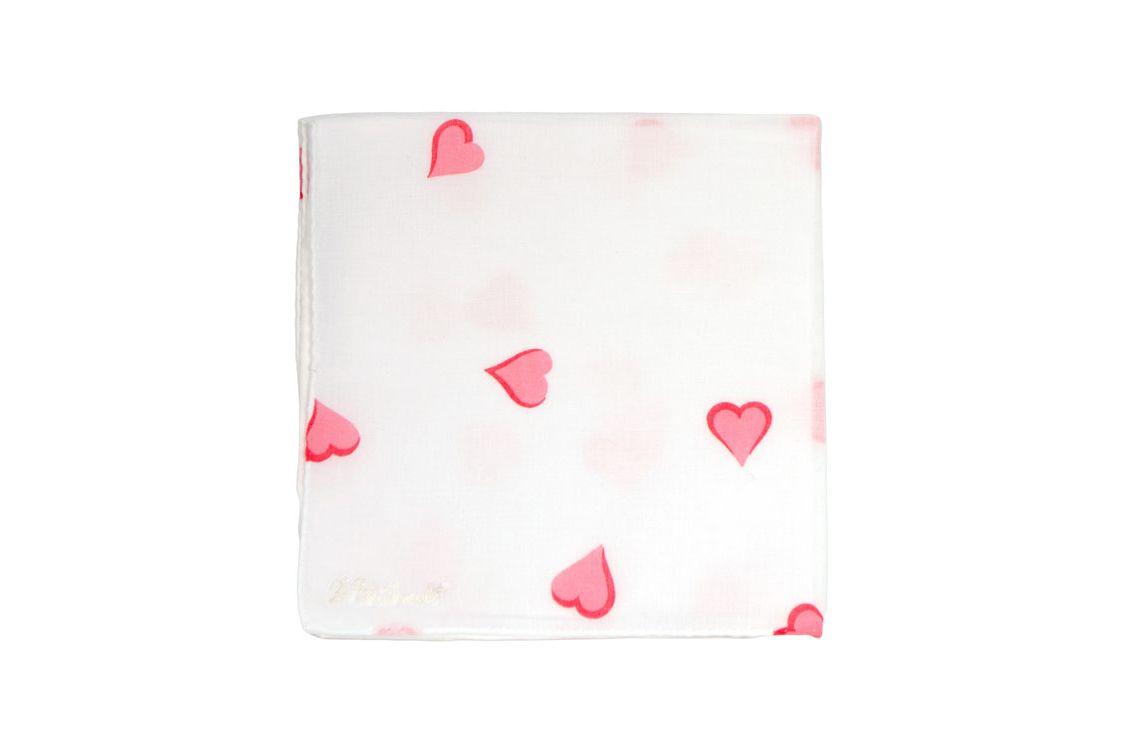 D. Porthault Printed Handkerchief