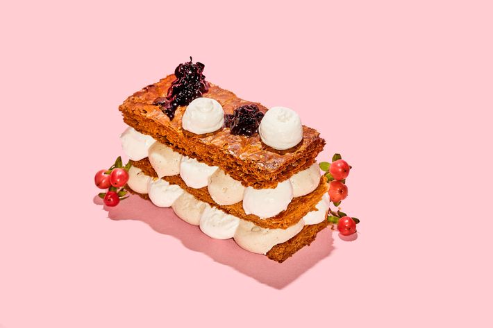 Rebelle's mille-feuille.