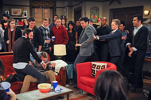 """Tailgate"" --  Barney (Neil Patrick Harris) and Ted (Josh Radnor) open a bar called ""Puzzles,""  on HOW I MET YOUR MOTHER."
