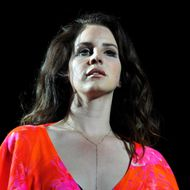 Singer Lana Del Rey performs onstage during day 3 of the 2014 Coachella Valley Music & Arts Festival at the Empire Polo Club on April 13, 2014 in Indio, California.