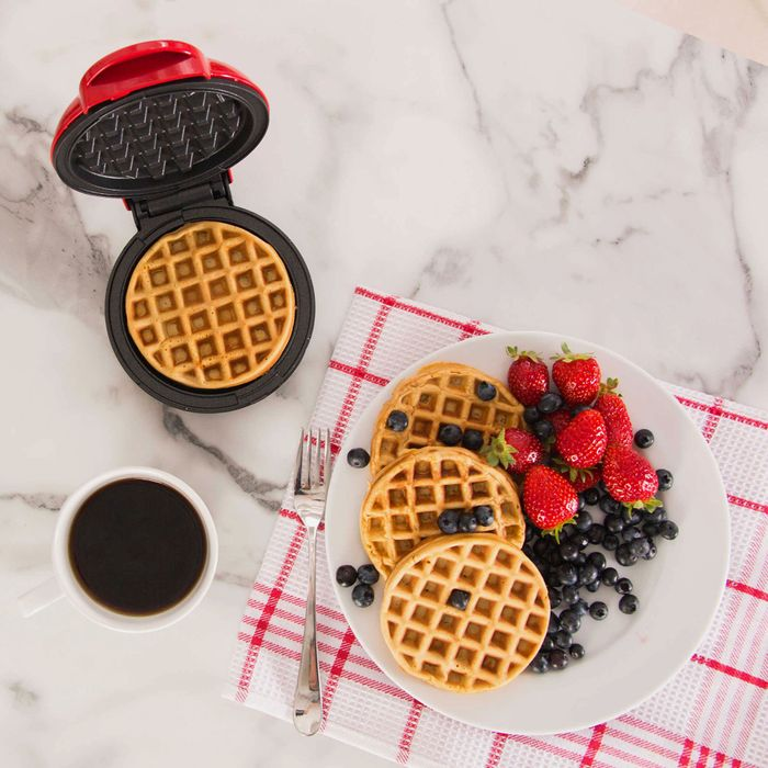 Dash Mini Waffle Maker — The Strategist reviews the waffle maker.