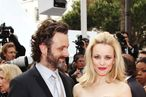 Actress Rachel McAdams (R) and Michael Sheen arrive at the 'Sleeping Beauty' premiere during the 64th Annual Cannes Film Festival at the Palais des Festivals on May 12, 2011 in Cannes, France.