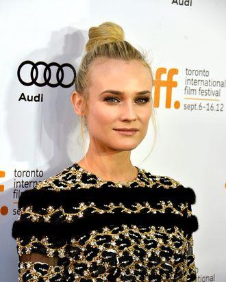 Actress Diane Kruger arrives at the