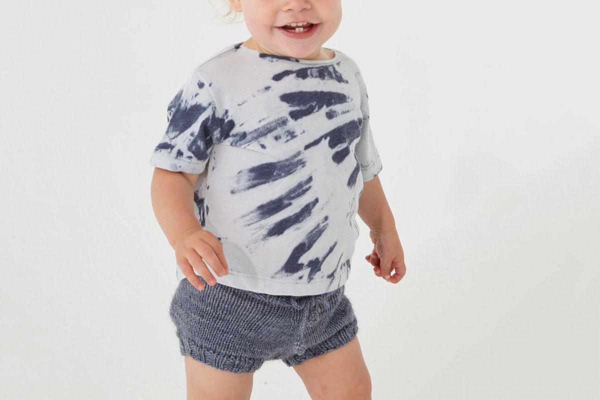 Tooth-Less Hot Weather Round Collar Short Sleeve Kid Tshirt