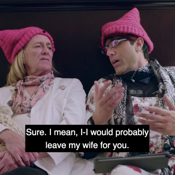 Every Time Sacha Baron Cohen Says 'My Wife' in His New Show Sacha Baron Cohen Spouse