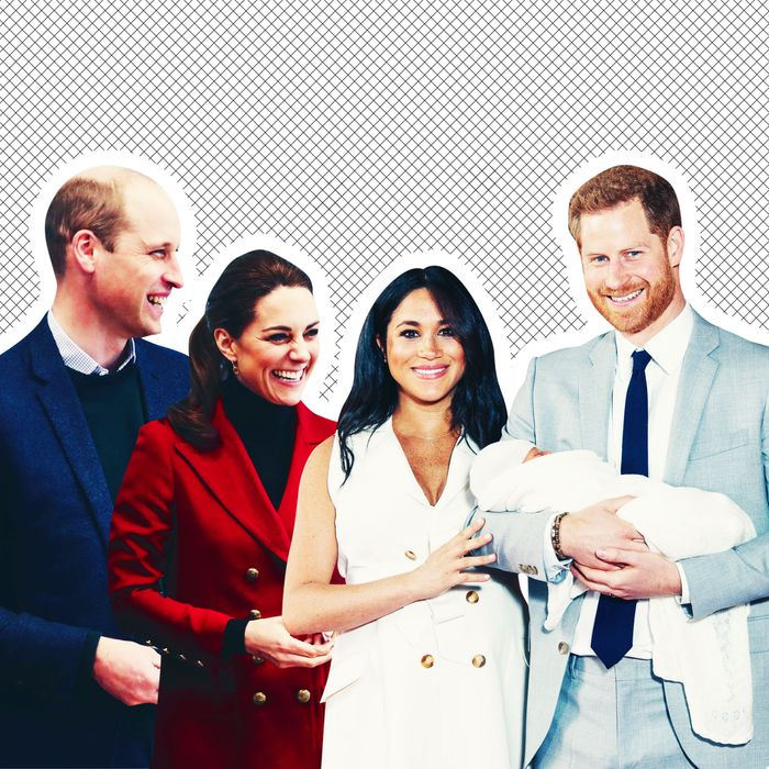 Baby Archie Meets Kate Middleton And Prince William