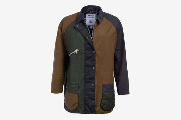 Barbour x ALEXACHUNG Patch Weatherproof Waxed Cotton Jacket
