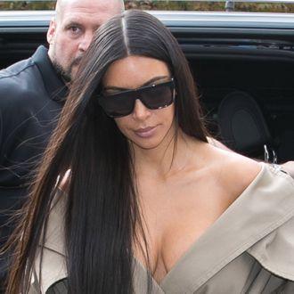 The Kardashian Family Sighting - Day Five Paris Fashion Week Spring/Summer 2017