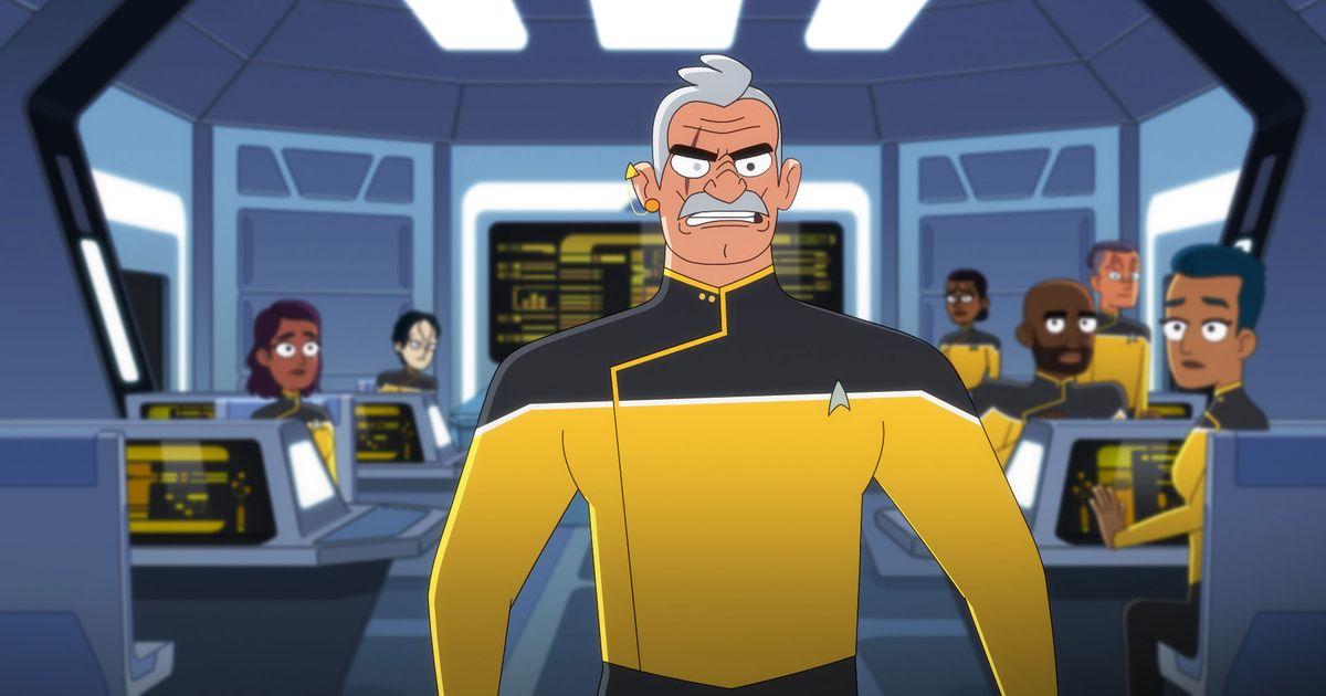 Star Trek Lower Decks. CBS All Access.