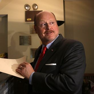 NEW YORK, NY - SEPTEMBER 10: Republican mayoral candidate Joe Lhota, former CEO of the Metropolitan Transportation Authority, votes in the New York City mayoral primary on September 10, 2013 in the Brooklyn borough of New York City. Lhota is running against businessman John Catsimatidis on the Republican side. (Photo by Spencer Platt/Getty Images)