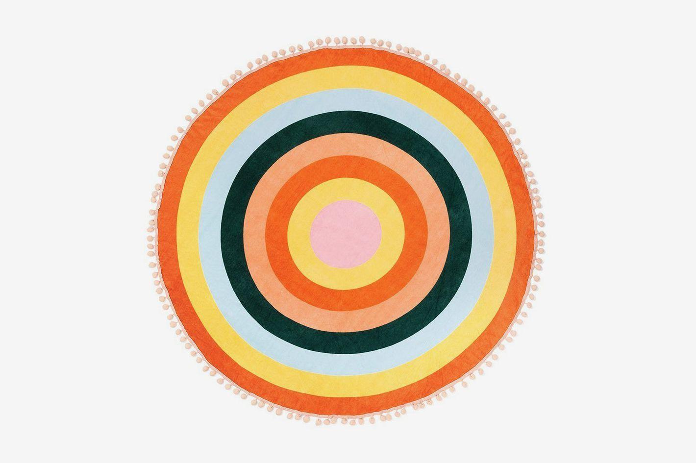 Ban.do Color Wheel Round Towel