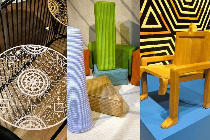 A selection of NYCxDESIGN Week showpieces. Photo: Wendy Goodman
