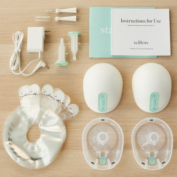 Willow Wearable Double Hands-Free Electric Breast Pump
