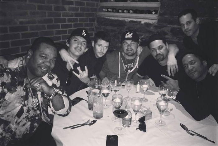 Lukas Haas, Leonardo DiCaprio, Pussy Posse.