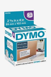 DYMO Authentic LW Large Shipping Labels, 300 per roll, 1 Roll