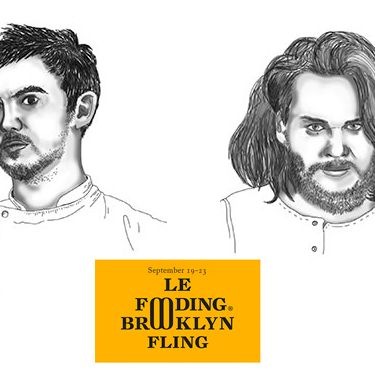 Bertrand Grébaut (left) and Magnus Nilsson are heading to Brooklyn.