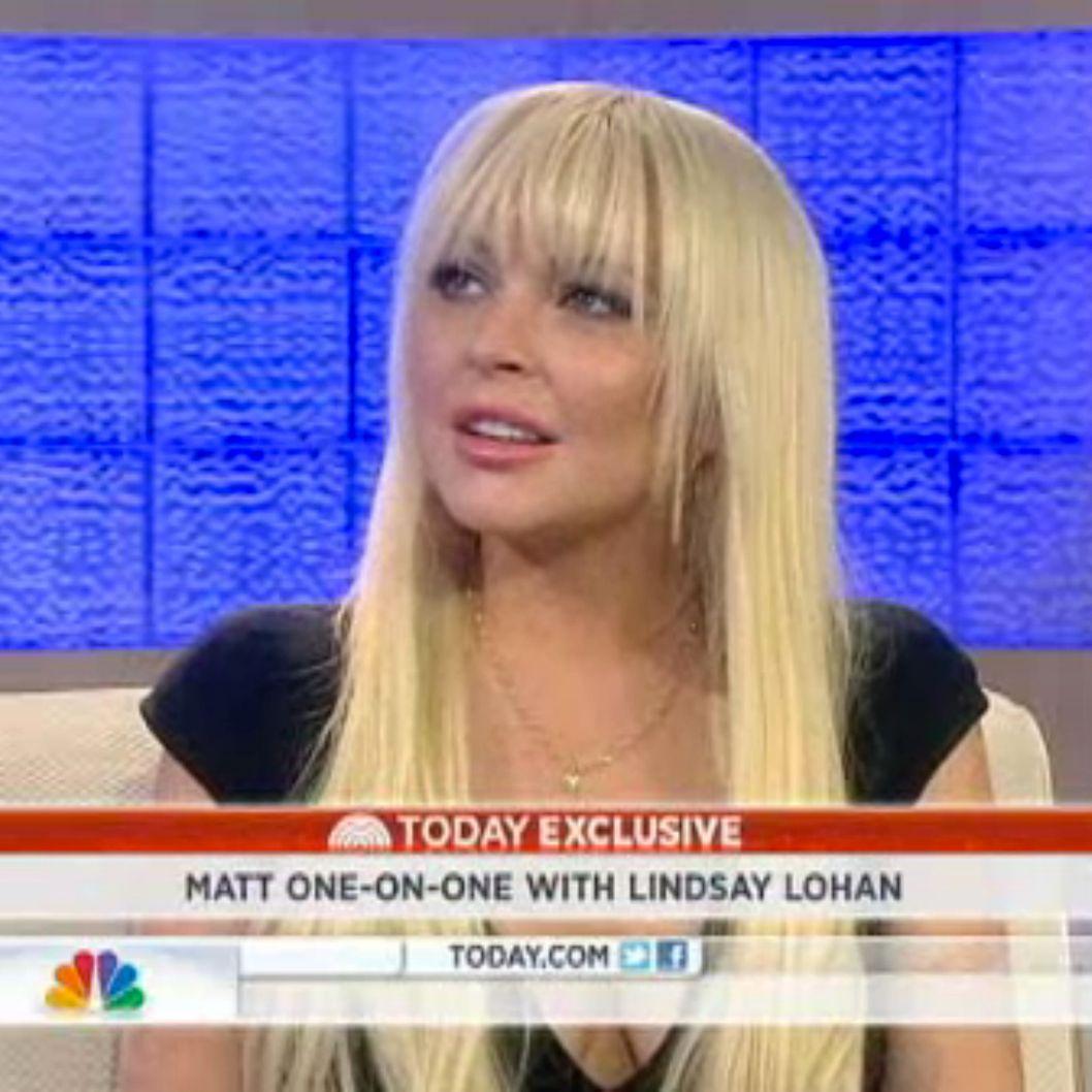 Lindsay Lohan Says the...