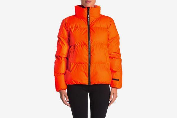 Juicy Couture Cozy Zip Puffer Jacket