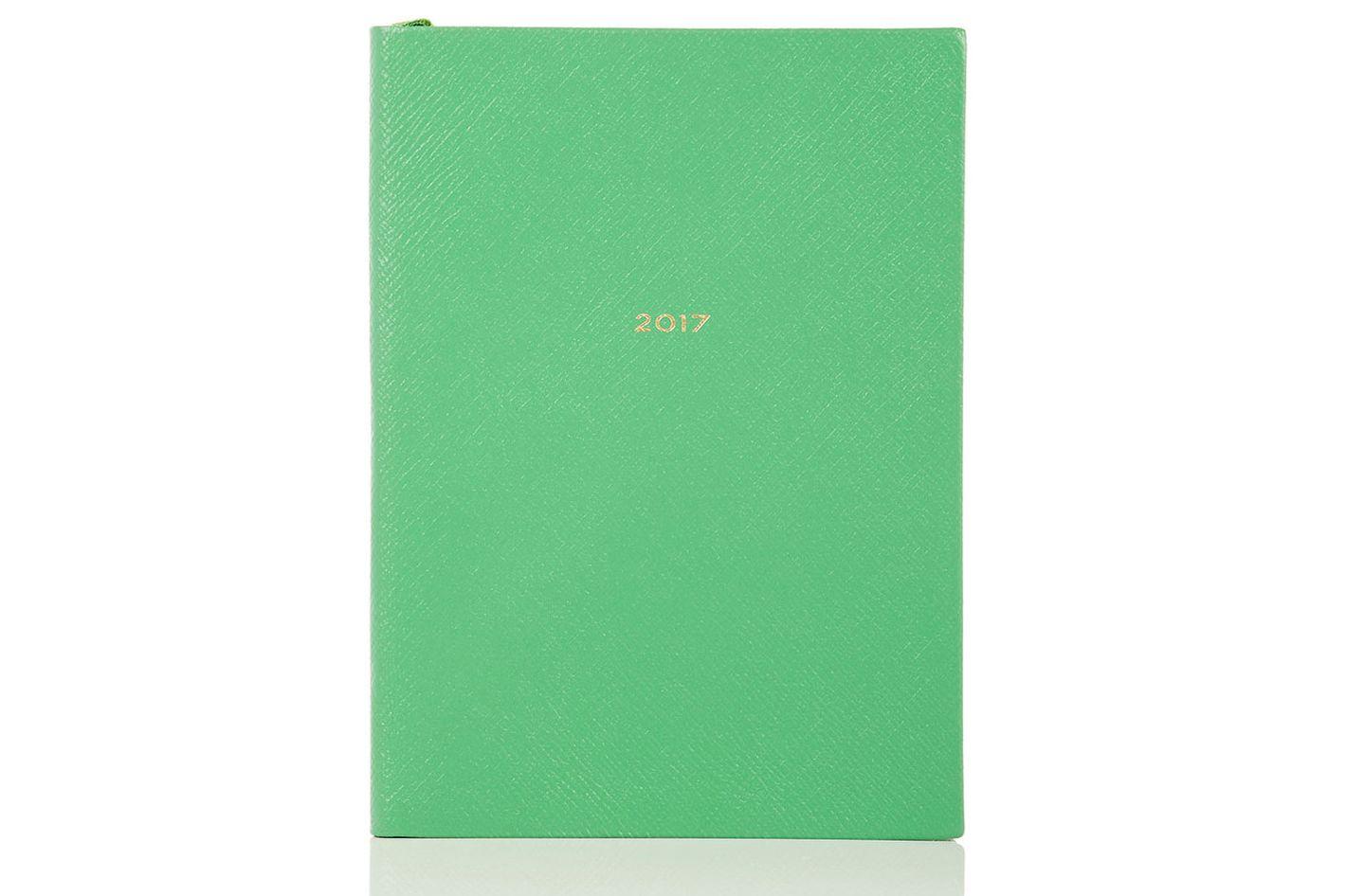 Smythson Saffiano Leather 2017 Soho Diary