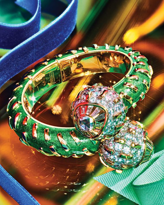 A cactus bracelet from Tiffany's. Photo: Joe Lingeman