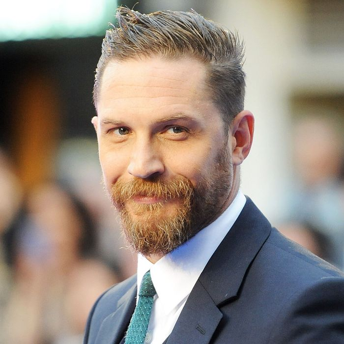 Tom Hardy describes his penis.