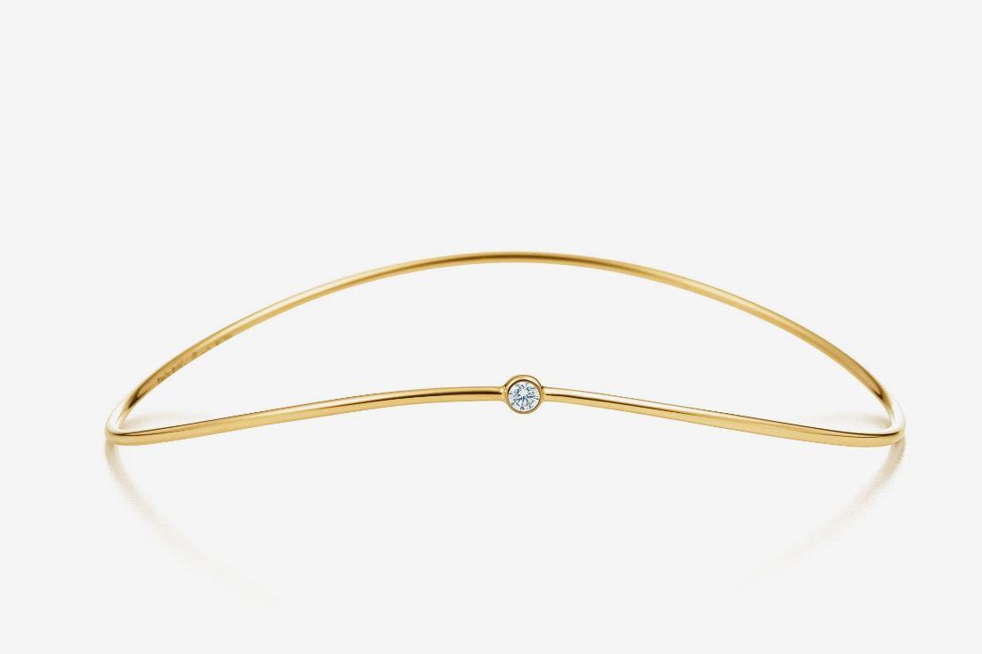 Tiffany & Co. Else Peretti Wave Single-row Bangle