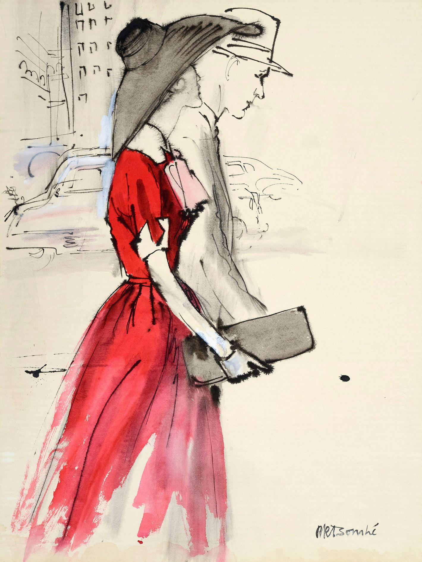 Drawing fashion bill thames 10