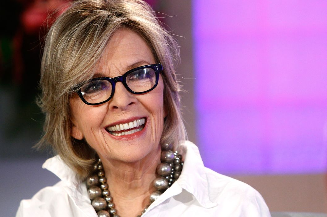 "TODAY -- Pictured: Diane Keaton appears on NBC News' ""Today"" show -- Photo by: Peter Kramer/NBC/NBC NewsWire"