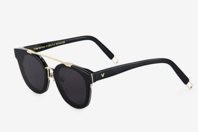 Tilda Swinton X Gentle Monster Newtonic 64MM Rounded Square Sunglasses