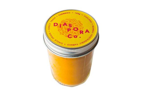 100g Powdered Turmeric Jar