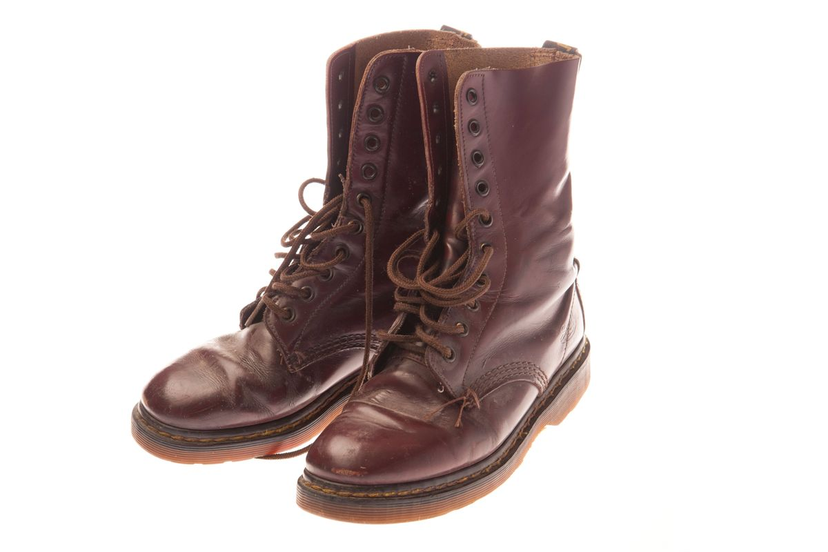 doc martens boots 1945 50 ugliest shoes the cut. Black Bedroom Furniture Sets. Home Design Ideas