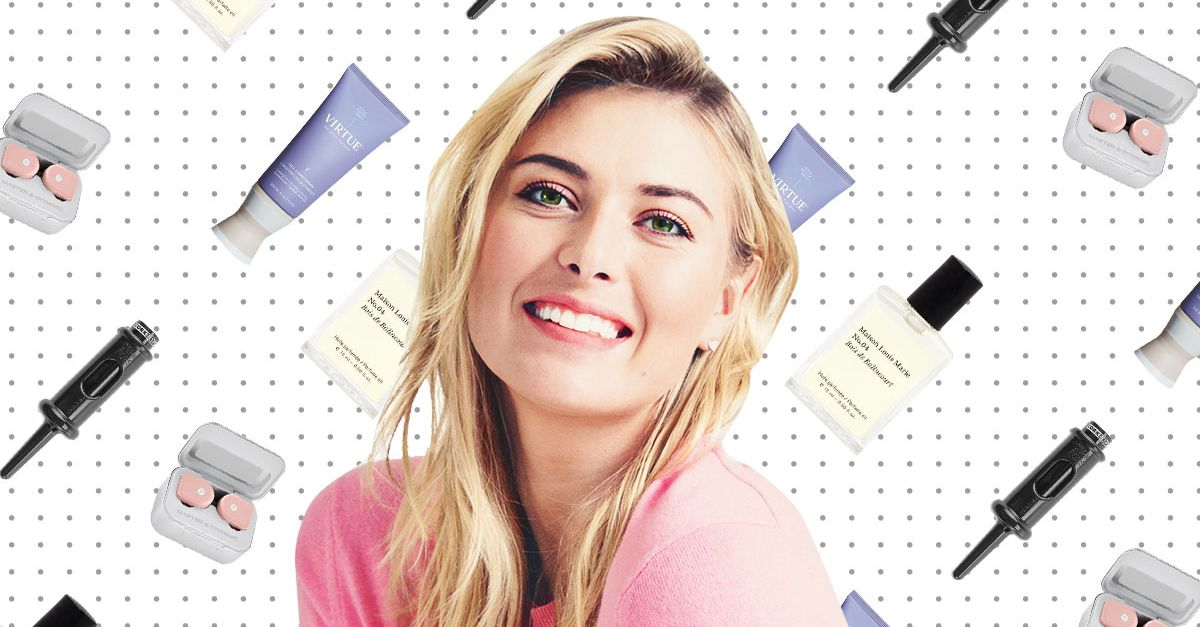 What Maria Sharapova Can't Live Without