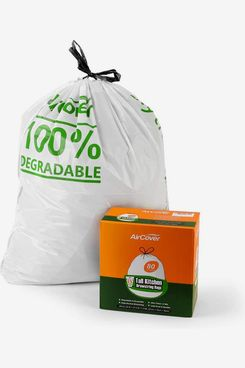 Aircover 8-12 Gallon Biodegradable Trash Bags (80-Count)