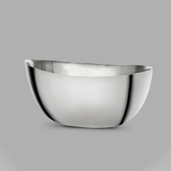 Giorgio Armani Large Ginger Centerpiece in Silver-Plated Steel