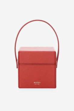 Mateo New York The Catherine Leather Box Bag
