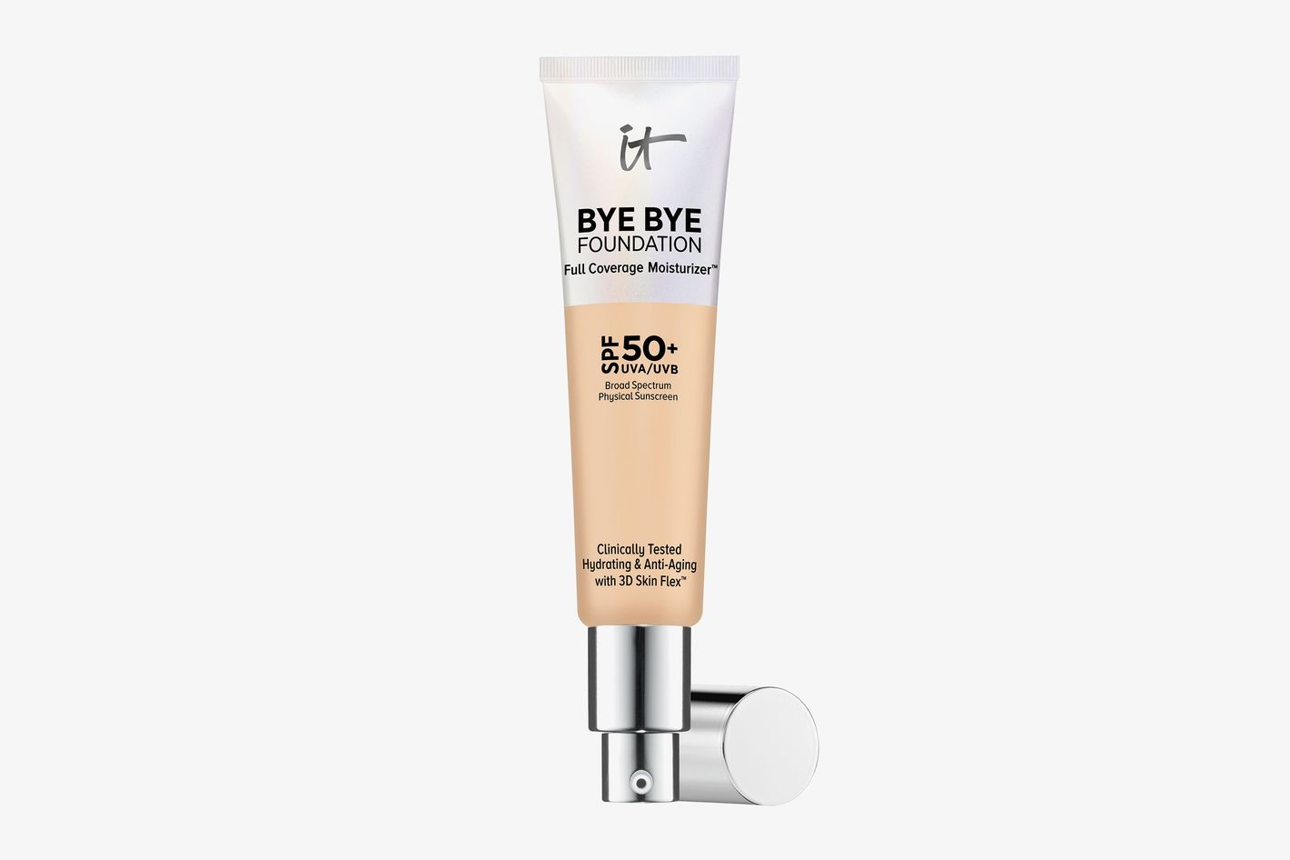 Bye Bye Foundation Full Coverage Moisturizer with SPF 50+ Light Medium