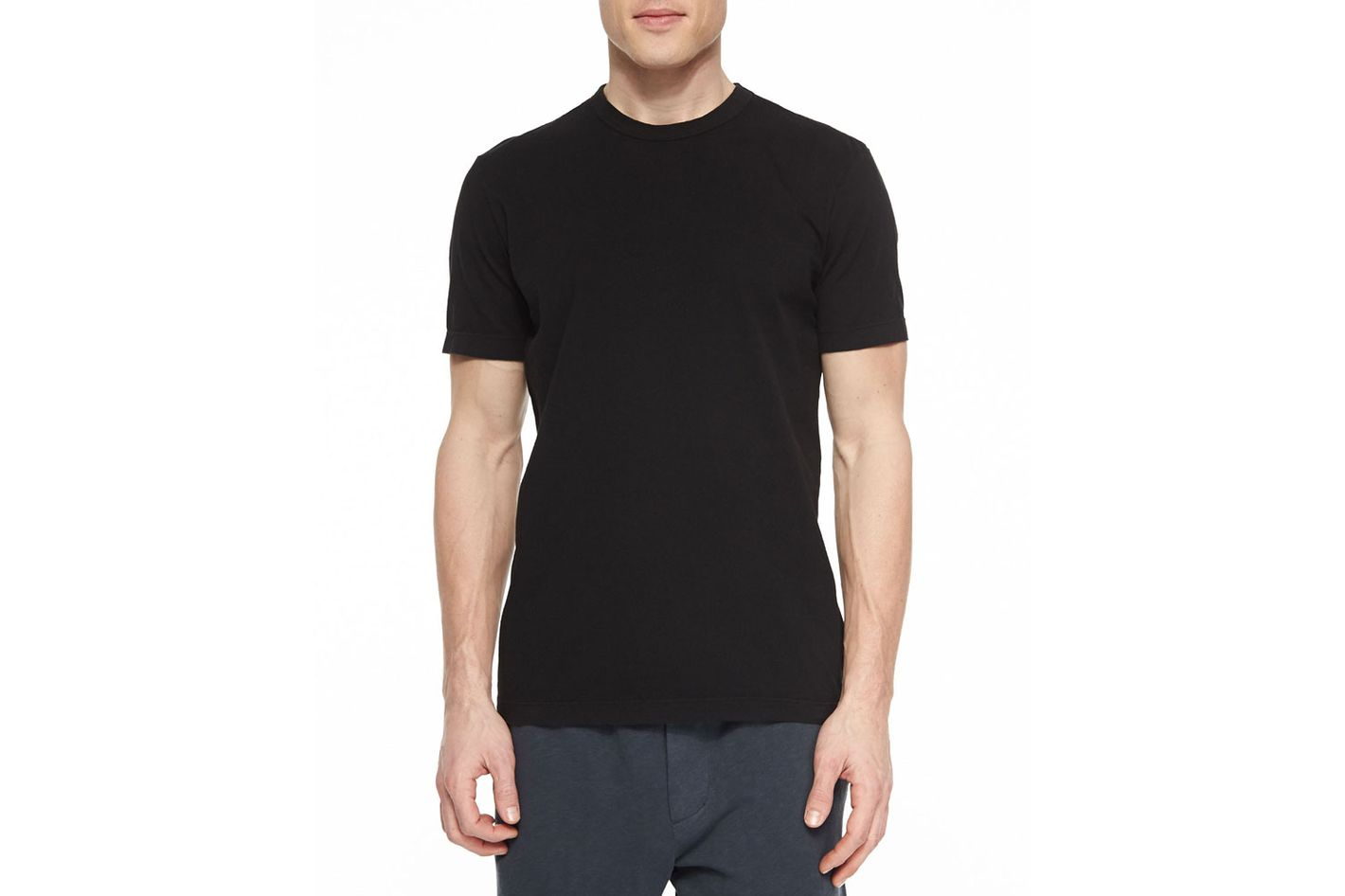 The best black t shirt for men according to nick wooster for Make photo t shirt online