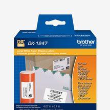 Brother QL Paper Labels, 180 Per Roll, 1 Roll