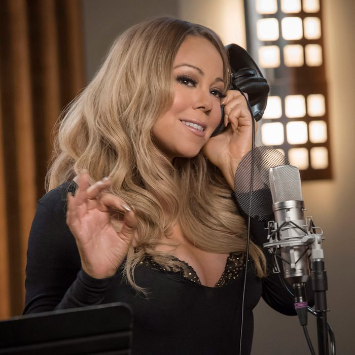 EMPIRE: Guest star Mariah Carey in the
