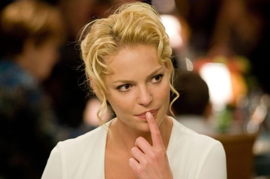 THE UGLY TRUTH, Katherine Heigl, 2009.