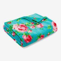 Betsy Johnson Bouquet Day Ultra Soft Plush Sherpa Throw