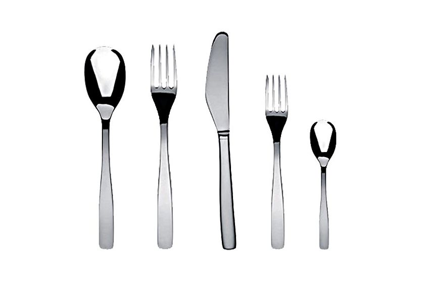 Alessi KnifeForkSpoon by Jasper Morrison 5-piece set