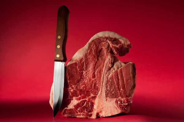 The Burly, Beautiful (and Sometimes Brightly Colored) Steak Knives of New York